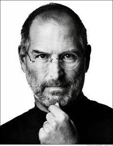 Steven Jobs: o grande personagem histórico da Apple, faleceu em 2011 depois de uma árdua batalha contra um cancro no pâncreas.