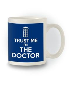 Doctor Who Sci-Fi Inspired 'Trust Me I'm The Doctor' Mug Mad Hatters Tee Party http://www.amazon.co.uk/dp/B00O935O7I/ref=cm_sw_r_pi_dp_WW.Pub0Y8Z7BY