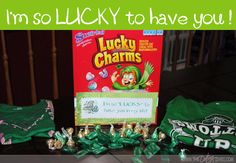 Grab some Lucky Charms and make your honey feel special when they find a pot of gold waiting for them inside the box.. www.TheDatingDivas.com #stpatricksday #luckyinlove #datingdivas