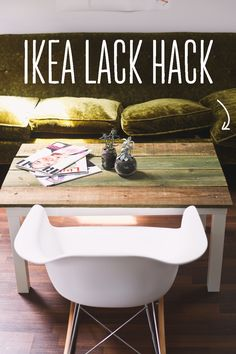 Ikea Hack // Lack Coffee Table — Treasures & Travels