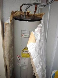 Got a water heater that's over seven years old? Here's a solution that could save you money on energy costs: Wrap your water heater in an insulation blanket. It'll save you roughly 1,000 lbs of carbon dioxide a year, and it'll cost you about $20-30 at your hardware store. If you have a newer water heater, it probably doesn't need one as these heaters come insulated. Thinking about doing it? Here's a tutorial that shows you how to install it yourself.
