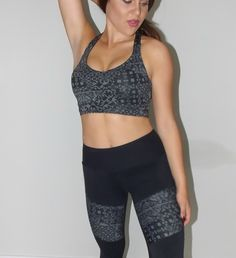 Fit Fashion - printed black sports bra - gym style and activewear Take Care Of Your Body, Gym Style, Fashion Prints, Fitness Fashion, Activewear, Indie, Sporty, V Neck, Printed