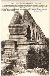 Aqueduct-de-nimes - Pont du Gard — Wikipédia