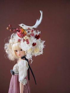 りょうつ<Title>spring hat