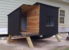 Modern Dog House: Kreg Jig