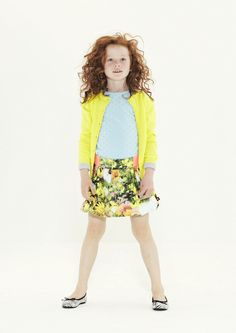 ~ molo Lookbook SS13 kids fashion ~ How pretty the girls will feel...wearing this outfit!