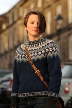 The Icelandic wool sweater - necessary in the cold winter ahead :)