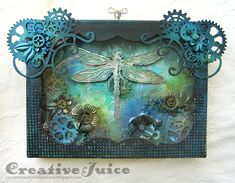 Welcome to Week 15 in my Tuesday's Texture blog series, where each Tuesday I'm sharing a piece of textured art that caught my eye somewhere in the Blogosphere. These gorgeous mixed media creations...
