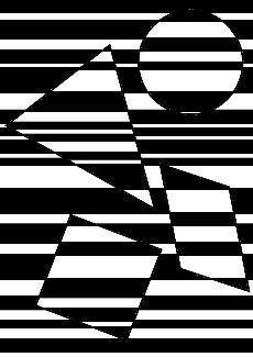 Illusion optique N&B