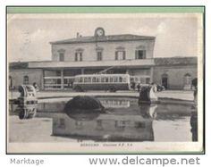 Bergamo 1956-stazione f.f.s.s.- - Delcampe.it