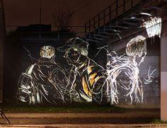 light installation art