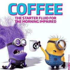 Coffee The starter fluid for the morning impaired Coffee Quotes, Coffee Humor, Funny Coffee, Coffee Love, Coffee Break, Coffee Coffee, Minions, The Velvet Rope, Tim Hortons
