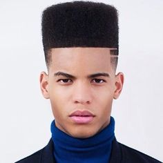 Great Short Haircuts For Men or Black Men Hairstyles Flat Top . Top Haircuts For Men, Black Boys Haircuts, Black Men Hairstyles, Top Hairstyles, Cool Haircuts, Fresh Haircuts, Bandana Hairstyles, African Hairstyles, Braided Hairstyles