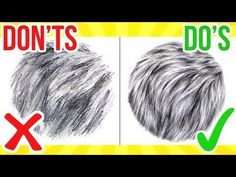 (4) DO'S & DON'TS: How To Draw Fur   Step By Step Drawing Tutorial - YouTube #stepbystepfacepainting