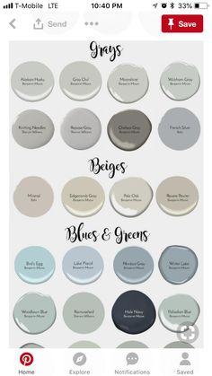 Trendy home office paint colors valspar benjamin moore 17 ideas Interior Paint Colors For Living Room, Office Paint Colors, Bathroom Paint Colors, Paint Colors For Home, Living Room Paint, House Colors, Paint Colours, Interior Painting, Living Rooms