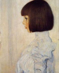 Gustav Klimt, Portrait of Helene Klimt.
