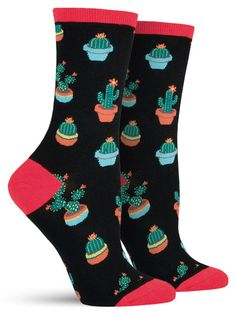 Although these cactus socks appear a little rough around the edges, (literally)…