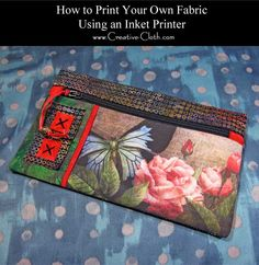 Printing your own fabric is fun and easy and it can be used in all sorts of different ways in all types of sewing projects. Small to medium printed photos