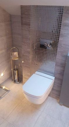 56 Modern Bathroom For Your Perfect Home This Summer - Home Decoration Experts Bathroom Design Luxury, Modern Bathroom Design, Small Toilet, New Interior Design, Bathroom Collections, Small Bathroom, Bathrooms, Ideas, House
