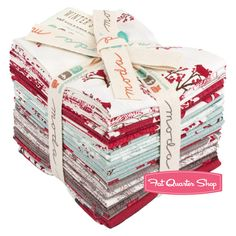 Winter's Lane Fat Quarter Bundle Kate & Birdie Paper Co. for Moda Fabrics  - gotta get this for Christmas quilt!