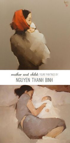 figure paintings by nguyen thanh binh.