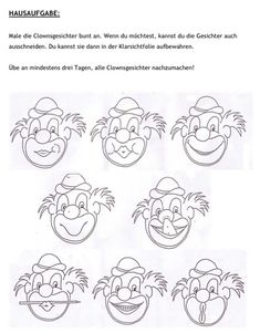 Mondmotoriek clown