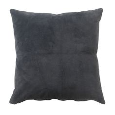 Heal's Suede Cushion Petrol
