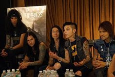 Congrats to Black Veil Brides, as the band's self-titled album has been voted by Noisecreep's readers of the October 2014 Release of the Month.