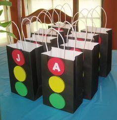 a simple favor: Stoplight Favor Bags