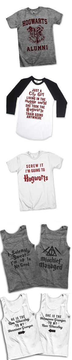Check out our super cool collection of shirts for #HarryPotter Lovers! From Weasley enthusiasts to witches and wizards, we've got hundreds of unique designs for you and your all your friends! While you're there, check out our 3 way BFF shirts, grab a funny sarcastic tee or find the perfect gift for mom! We're bringing people together through t shirts!