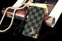 Louis Vuitton iPhone 6 and iPhone 6 Plus Wallet Case 2015  -  Cheap Desiner Case - iPhoneProtectiveCases.com