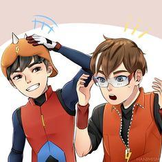 Boboiboy Anime, Hot Anime Boy, Anime Comics, Anime Boys, Anime Galaxy, Boboiboy Galaxy, Free Online Movie Streaming, Streaming Movies, Naruto Akatsuki Funny