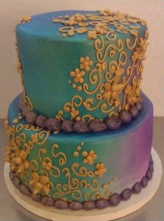 Modern Wedding Cake WEDDING CAKES By Bohemian Bakery Pinterest