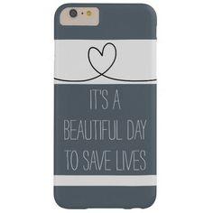 Grey's Anatomy quote phone case