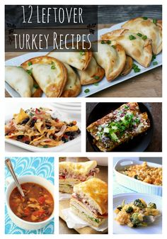 12 Leftover Turkey Recipes