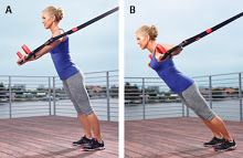 Suspension Straps Toning, Walking and Strength Training Workout - Prevention.com