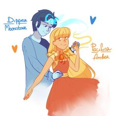 reverse dipifica - Google Search Mable And Dipper, Dipper And Pacifica, Dipper Pines, Gravity Falls Bill Cipher, Gravity Falls Comics, Reverse Falls Dipcifica, Steven Universe, Crossover, Gavity Falls