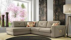 Γωνιακός καναπές King | Sectional sofa King #homedecor #homedecorideas #furniture #interiordesign #livingroom #livingroomdecor #sectionalsofa #sofa Sectional Sofa, Couch, Sofa King, Furniture, Home Decor, Living Room Modern, Trendy Tree, Modular Couch, Settee