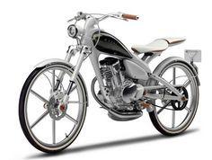 Yamaha Y125 Moegi Concept- A sexy 125cc bike/scooter.