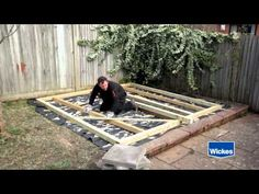 How to lay Decking - Wickes - YouTube