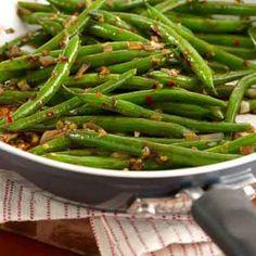 Szechuan Green Beans from Land O'Lakes