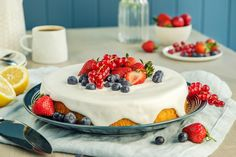 Royal Icing, Biscuits, Cheesecake, Food And Drink, Lemon, Baking, Desserts, Recipes, Cakes