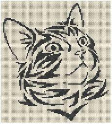 grilles jack russel et chats Plus Cat Cross Stitches, Cross Stitch Charts, Cross Stitch Designs, Cross Stitching, Cross Stitch Patterns, Beaded Cross Stitch, Cross Stitch Embroidery, Embroidery Patterns, Silhouette Chat