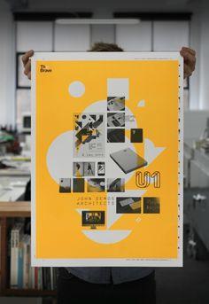 Brave Self Promo Poster - StudioBrave Portfolio - The Loop