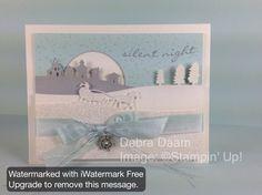 Silent Night Jingle par Debra - Cartes et artisanat de papier à Splitcoaststampers
