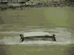 Driving Through Rivers Gifs Cool Amazing Gif Water River Car Gifs Driving  Gifs Jeep