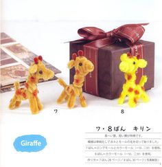 Pipe Cleaners Zoo  Japanese Craft Book by MeMeCraftwork on Etsy, $20.00