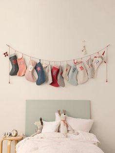 advent calender socks - countdown..