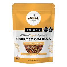 Muesli and Granola Archives Paleo Muesli, Granola, Pecan, Berries, Goodies, Nutrition, Wellness, Food, Gourmet