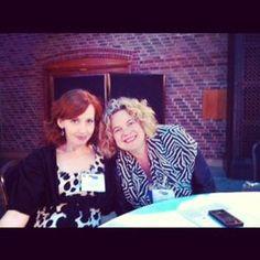 Behind the scenes: Jen and Eleanor Mills